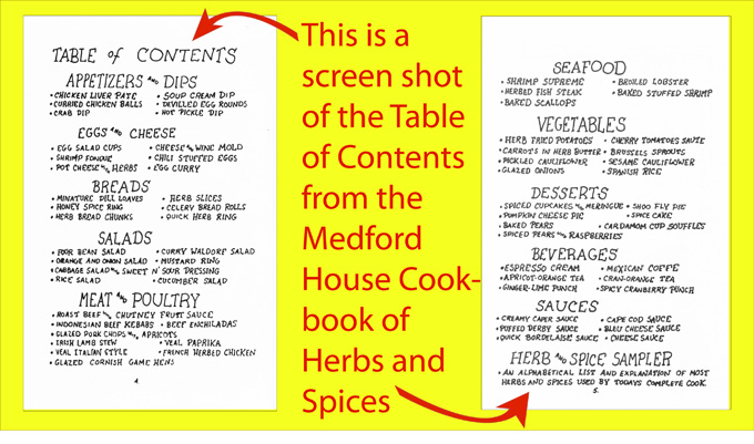 Herbs & Spices Cookbook