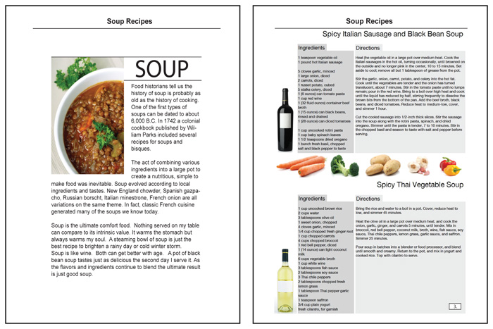 Wine Soup recipes examples